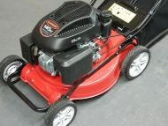 "NEW DMC 16"" Lawn Mower 140cc Push Lawnmower 5HP 4 Stroke Engine Catch LONCIN"