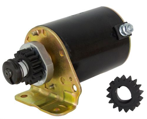 RIDE ON MOWER STARTER MOTOR FOR BRIGGS AND STRATTON MOTORS 5-18HP 16TOOTH 499521