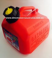 SCEPTER 5 LITRE RED FUEL CAN