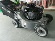 DMC 19 inch push mower with Honda engine Fabric Catcher