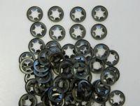 100 x Mower Wheel Clips retainers