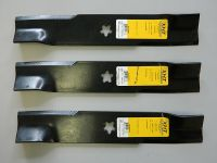 3 x 42 INCH BLADES FOR HUSQVARNA YTH2242TD EZ4216 EZ4217 EZ4220 OEM 539 11 20 78