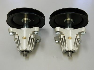 2 x SPINDLE ASSY FOR SELECTED MTD ROVER TROY BILT CUB CADET