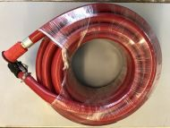 "FIRE FIGHTING HOSE 20M REEL KIT BRASS NOZZLE RED 25mm 1"" QUICK RELEASE CAM LOCK"