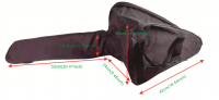Chainsaw protective carry bag suits up to 20 inch bars