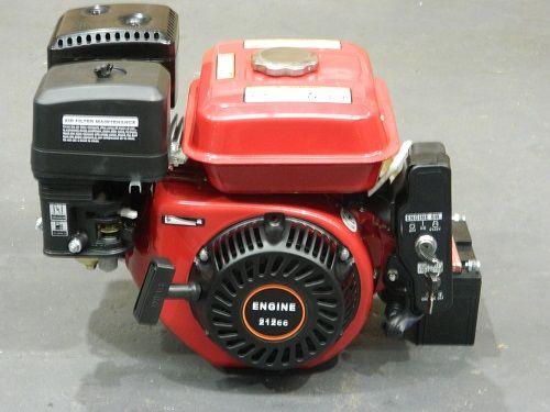 7.5HP Petrol Stationary Engine Electric Key Start 212CC Horizontal Shaft Motor