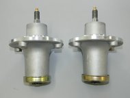 2 x Husqvarna Ride on Lawnmower Spindle Assembly For Fabricated Deck 539 11 21-70