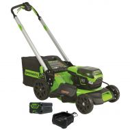 "Greenworks Pro 60V 6.0Ah Lithium-Ion Cordless 21"" Self Propelled Lawn Mower"