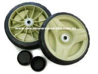 NEW STYLE Honda mower wheels PAIR (2)
