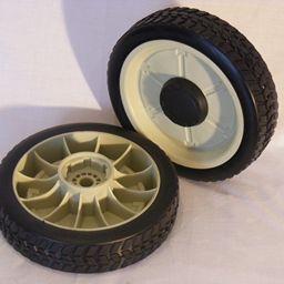 2 x Rear Drive wheels suit honda and DMC mowers