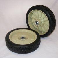 2 x Front wheels suit Honda and DMC mowers