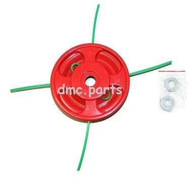 Alloy Brushcutter head Holds 4 x lines