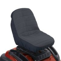 RIDE ON MOWER SEAT COVER Black / Charcoal
