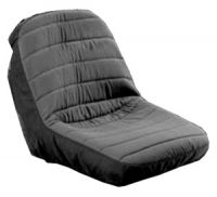 RIDE ON MOWER SEAT COVER Black / Grey