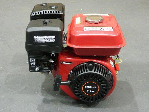 7.5HP Petrol Stationary Engine 212CC OHV 4 Stroke Horizontal Shaft Recoil Motor